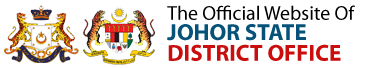 The Official Website Of Johor State District Office